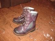 Ботинки детские фирмы ORTOPEDIC на натуральном меху