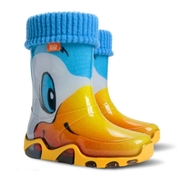STORMER LUX PRINT A  (Резиновые сапоги для детей. Демар)
