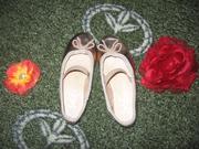 моднявые балеточки love your ballets размер 10 (28),  почти новые