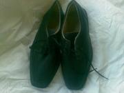 Туфли мужские  кожаные 34 - 35 размер