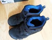 Ботинки Ecco 32р. стелька до загиба 20,  5см,  вся 21,  3см